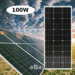 1000W 12 Volt Mono Solar Panel Module for Home Solar System(10pcs X 100 Watt) BA