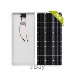 1000W 12 Volt Mono Solar Panel Module for Home Solar System(10pcs X 100 Watt) BE