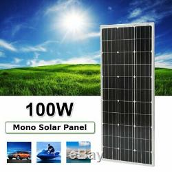 1000W 12 Volt Mono Solar Panel Module for Home Solar System(10pcs X 100 Watt) MA
