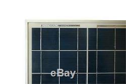 100W 12V Polycrystalline Solar Panel 12V Volt Po