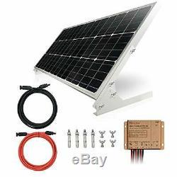 100W 12V Solar Panel Kit Battery Charger 100 Watt 12 Volt Off Grid System for H