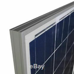 100W 200W 300W Poly Solar Panel for 12V Volt Battery Charger RV Boat off Grid