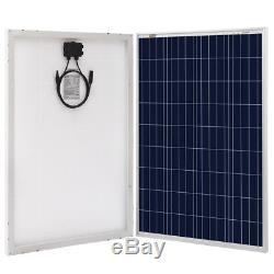 100W 200W Polycrystalline Solar Panel 12 Volt Battery Chargin for RV Boat