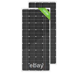 100W 200W Watt Solar Panel 12 Volt Monocrystalline for Boat RV Marine Off Grid