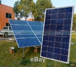 100W Poly Solar Panel System Kit for 12Volt Battery Charge with 15A Regulator