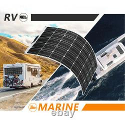 100W Watt 12 Volt mono flexible solar panel for RV /Car / boat Camping /Home US