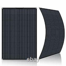 100Watt Flexible Solar Panel 12 Volt Ultra Lightweight Semi-Flexible