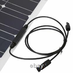 100 Watt 100W 18V 18Volt Solar Panel Battery Charger RV Boat Camping Off KN