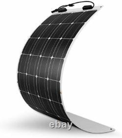 100 Watt 12Volt Extremely Flexible Monocrystalline Solar Panel Ultra Lightweight