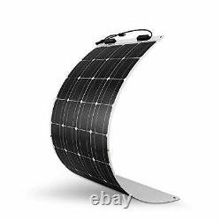 100 Watt 12 Volt Extremely Flexible Monocrystalline Solar Panel