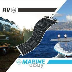 100 Watt 12 Volt Flexible Monocrystalline Solar Panel Ultra Lightweight Durable