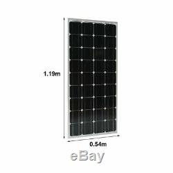 100 Watt 12 Volt Monocrystalline Solar Panel 3 X 100W = 300W RV Off Grid MS