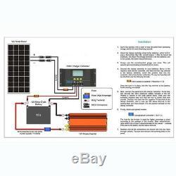 100-Watt 12-Volt Monocrystalline Solar Panel Weatherproof Heavy Duty By Renogy