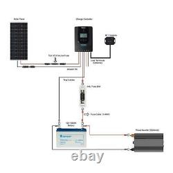 100-Watt 12-Volt Off-Grid Solar Premium Kit