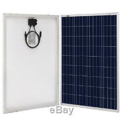 100 Watt 12 Volt Solar Panel Kit with Controller 100W 12V Battery Charger Off Grid