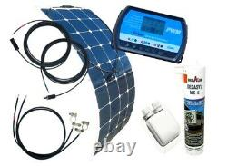 100 Watt Flexi Wohnmobil Camping Solaranlage, 12 Volt SET