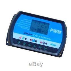 100 Watt Inselanlage, 12 Volt SET mit Spannungswandler mit Batterie