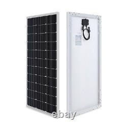 100 Watt Monocrystalline Solar Panel 12-Volt 100W Mono Cell Off-Grid 12V Camper