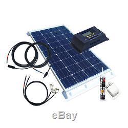 100 Watt Wohnmobil Camping Solaranlage, 12 Volt SET