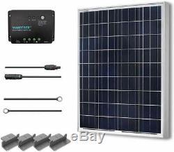 100 Watts 12 Volts Polycrystalline Solar Starter Kit Panel Watt Systema