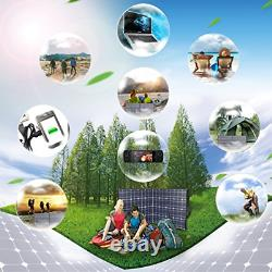100 Watts 12 Volts Portable Solar Panel Kit Charger Foldable Flexible Solar with