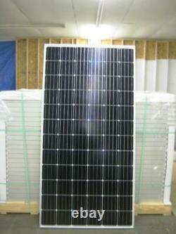 10- 360 Watt 24Volt Battery Charger Solar Panel Off Grid TIE 3.6KW TOTAL