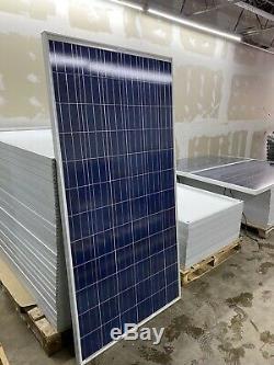 10 Solar Panel 290 Watt 72 Cell Poly 10- 12 Volt AGM 102 amp/ Hr Battery
