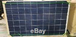 120- 275 WATT 24 volt UL listed grid tie hard to find new panels. 40 per watt