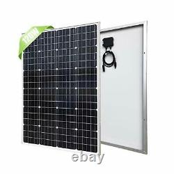 120 Watts 12 Volts Monocrystalline Solar Panel High 120W Solar Panel