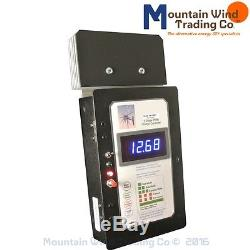 12/24 Volt 65 Amp Solid State PWM Charge Controller with Volt Meter 4 Solar Wind