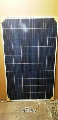 12- 275 WATT 24 volt UL listed grid tie hard to find new panels. 42 per watt