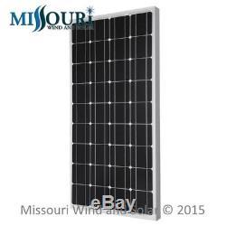 12 Volt 100 Watt Monocrystalline Solar Panel