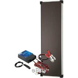 12 Volt 18 Watt Solar Panel Battery Charger Kit
