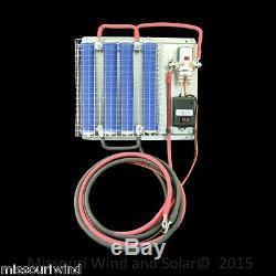 12 volt digital charge controller 1200 watt divert load 4 resistor wind turbine