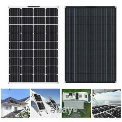 130W Watt 12V Volt Mono Flexible Solar Panel Battery Charging RV Home Off Grid