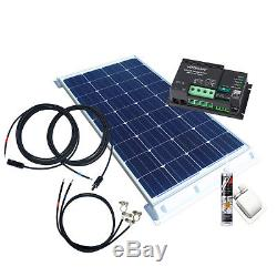 130Watt Wohnmobil Solaranlage, 12 Volt Set mit Votronic Laderegler