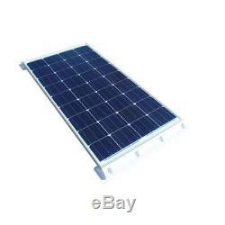 130 Watt Wohnmobil Solaranlage mit Steca Laderegler PR1010, 12 Volt SET