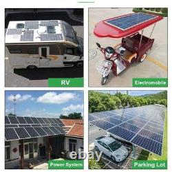 150W Watt 12V Volt Mono-crystalline 150W Solar Panel Highly Flexible Solar Panel