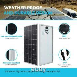 160-Watt 12-Volt Monocrystalline Solar Panel for RV, Boat, Back-Up System