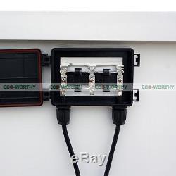 160 Watt 160W 12V 12 Volt Solar Panel Battery Charger RV Boat Camping Off Grid
