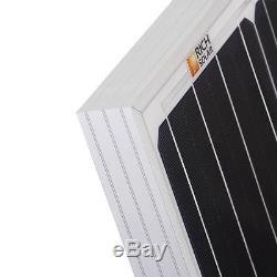 170 Watt 12 Volt Moncrystalline Solar Panel High Efficiency Mono Module