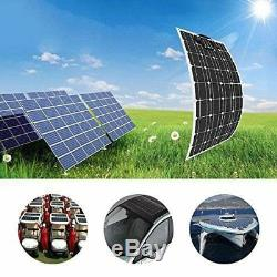 175W Watt Solar Panel Mono 12V Volt for Off Grid RV Boat Battery Charge 18V HO
