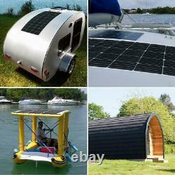 175-Watt 12-Volt Flexible Ultra-Thin Lightweight Solar Panel for RVs and Boats