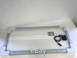1PC Renogy 100 Watt 12 Volt Monocrystalline Solar Panel