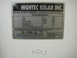 1- 200 Watt 12 Volt Battery Charger Solar Panel Off Grid RV Boat