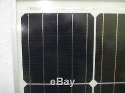 1- 200 Watt 12 Volt Battery Charger Solar Panel Off Grid RV Boat 200 watt total
