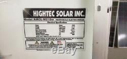 1- 210 Watt 12 Volt Battery Charger Solar Panel Off Grid RV Boat FREE Z BRACKET