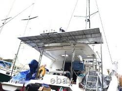 1- 215 Watt 12 Volt Battery Charger Solar Panel Off Grid RV Boat 215 watt total