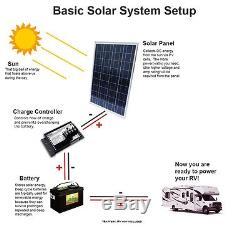2000W (20 x 100 Watt) 12 Volt 12V RV Boat Battery Charging Solar Panel CE, TUV