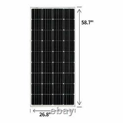 200 Watt 12 Volt Moncrystalline Solar Panel High Efficiency Solar 200W Mono